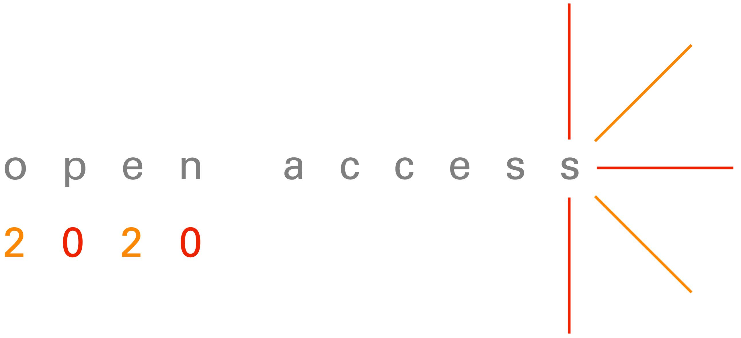 Logo 'open access 2020'